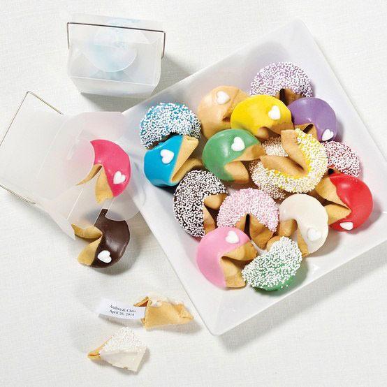 Печенье с пожеланиями рецепт с фото